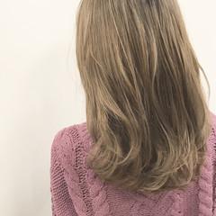グラデーションカラー 外国人風カラー アッシュ ガーリー ヘアスタイルや髪型の写真・画像