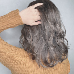 髪質改善カラー ストリート イルミナカラー デート ヘアスタイルや髪型の写真・画像
