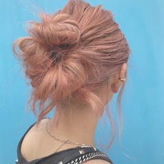 外国人風フェミニン セミロング モード 外国人風 ヘアスタイルや髪型の写真・画像