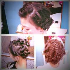 大人かわいい モテ髪 ゆるふわ 三つ編み ヘアスタイルや髪型の写真・画像