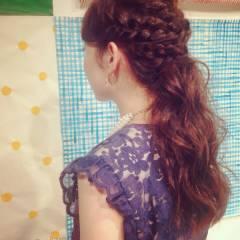 アンティーク 秋 結婚式 コンサバ ヘアスタイルや髪型の写真・画像
