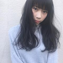 大人かわいい 透明感 外国人風 前髪あり ヘアスタイルや髪型の写真・画像