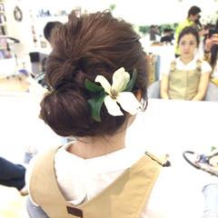 着物 ナチュラル アップスタイル パーティ ヘアスタイルや髪型の写真・画像