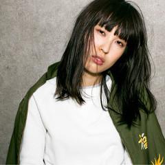 アッシュ ストリート 暗髪 外国人風 ヘアスタイルや髪型の写真・画像