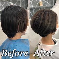 ツヤ髪 ナチュラル 美髪 ハイトーン ヘアスタイルや髪型の写真・画像