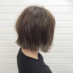 こなれ感 外ハネ ボブ ロブ ヘアスタイルや髪型の写真・画像