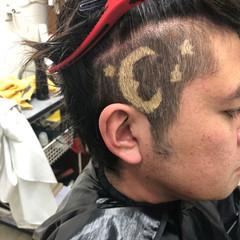 お洒落 ブリーチ ショート メンズヘア ヘアスタイルや髪型の写真・画像