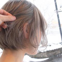 ブリーチオンカラー ブリーチ ナチュラル ブリーチカラー ヘアスタイルや髪型の写真・画像