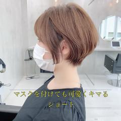 ショートヘア ショート 小顔ショート ショートボブ ヘアスタイルや髪型の写真・画像