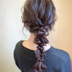 大人かわいい エレガント パーティ デート ヘアスタイルや髪型の写真・画像