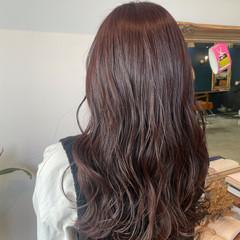 透け感 ロング エレガント 透け感ヘア ヘアスタイルや髪型の写真・画像