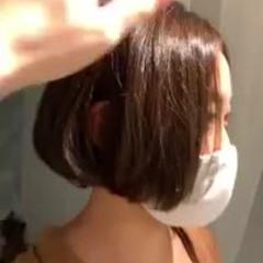 艶髪 ナチュラル ボブ モテ髪 ヘアスタイルや髪型の写真・画像