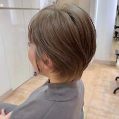 ショートヘア 大人可愛い 小顔ショート 大人ショート ヘアスタイルや髪型の写真・画像