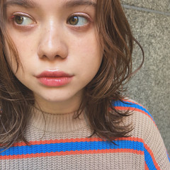 フェミニン 女子力 秋 透明感 ヘアスタイルや髪型の写真・画像