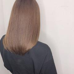ヘアカラー セミロング ダブルカラー インナーカラー ヘアスタイルや髪型の写真・画像