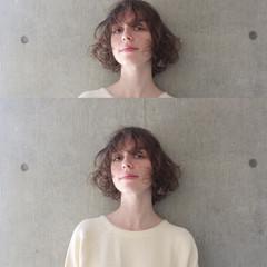色気 フリンジバング 大人女子 モード ヘアスタイルや髪型の写真・画像