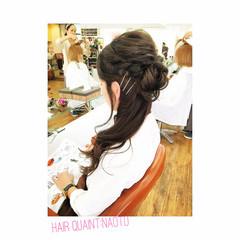 ショート ナチュラル ヘアアレンジ 簡単ヘアアレンジ ヘアスタイルや髪型の写真・画像