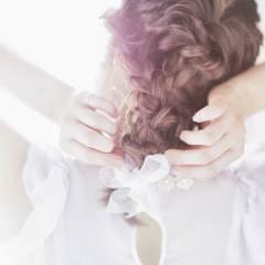 コンサバ 愛され パーティ ヘアアレンジ ヘアスタイルや髪型の写真・画像