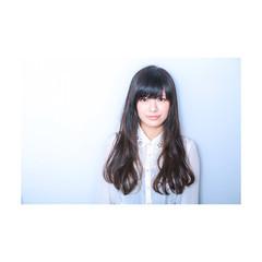 コンサバ 暗髪 黒髪 ロング ヘアスタイルや髪型の写真・画像