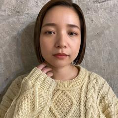 透明感 春 ミニボブ モテ髪 ヘアスタイルや髪型の写真・画像