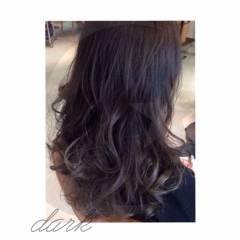 ローライト 外国人風カラー ストリート 暗髪 ヘアスタイルや髪型の写真・画像