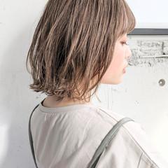 ボブ パーティ フェミニン アンニュイほつれヘア ヘアスタイルや髪型の写真・画像
