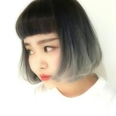 ストリート 前髪あり 外国人風 グラデーションカラー ヘアスタイルや髪型の写真・画像
