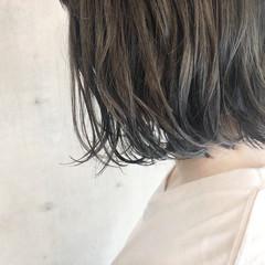 3Dカラー 透明感カラー イルミナカラー ヘアカラー ヘアスタイルや髪型の写真・画像