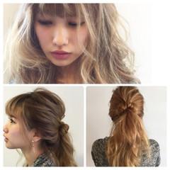 ロング ウェットヘア 外国人風 ヘアアレンジ ヘアスタイルや髪型の写真・画像