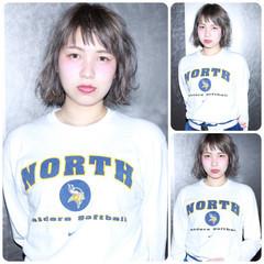 ダブルカラー オン眉 ガーリー 外国人風 ヘアスタイルや髪型の写真・画像