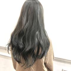 ロング ハイライト グラデーションカラー ナチュラル ヘアスタイルや髪型の写真・画像