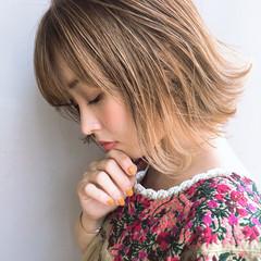 簡単ヘアアレンジ フェミニン デート エフォートレス ヘアスタイルや髪型の写真・画像
