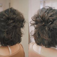 簡単ヘアアレンジ 大人かわいい 編み込み ヘアアレンジ ヘアスタイルや髪型の写真・画像