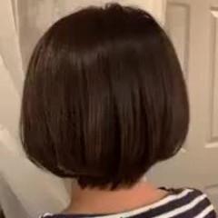 ショートボブ ゆるふわ 大人かわいい ナチュラル ヘアスタイルや髪型の写真・画像