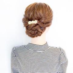 アウトドア オフィス ロング 結婚式 ヘアスタイルや髪型の写真・画像