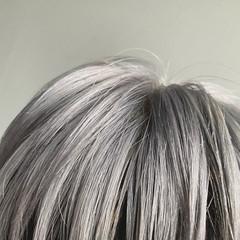 ショート シルバーグレイ メンズスタイル メンズヘア ヘアスタイルや髪型の写真・画像