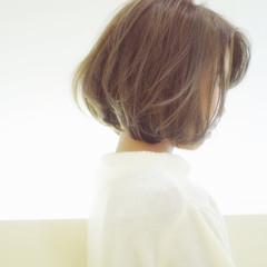 ショート ボブ ストレート 外国人風 ヘアスタイルや髪型の写真・画像