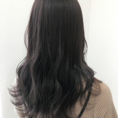 ブルージュ ベージュ 透け感ヘア 透け感アッシュ ヘアスタイルや髪型の写真・画像