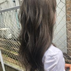 グラデーションカラー 外国人風 ナチュラル ハイライト ヘアスタイルや髪型の写真・画像