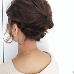 簡単ヘアアレンジ ボブ 結婚式 ショート ヘアスタイルや髪型の写真・画像