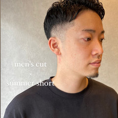 モード ショート メンズヘア メンズカジュアル ヘアスタイルや髪型の写真・画像