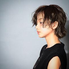 パーマ 黒髪 大人かわいい ピュア ヘアスタイルや髪型の写真・画像