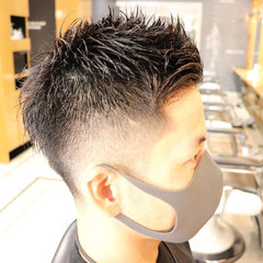 メンズカット ベリーショート ストリート メンズショート ヘアスタイルや髪型の写真・画像