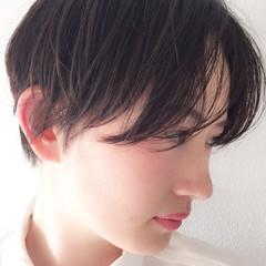 スポーツ ウェットヘア 抜け感 モード ヘアスタイルや髪型の写真・画像