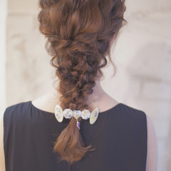結婚式 ヘアアレンジ ショート 簡単ヘアアレンジ ヘアスタイルや髪型の写真・画像