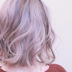 成人式 ハイライト グラデーションカラー バレイヤージュ ヘアスタイルや髪型の写真・画像