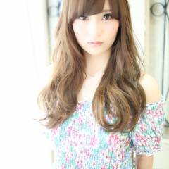 フェミニン モテ髪 ゆるふわ ロング ヘアスタイルや髪型の写真・画像