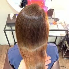 髪質改善トリートメント ナチュラル 銀座美容室 縮毛矯正 ヘアスタイルや髪型の写真・画像
