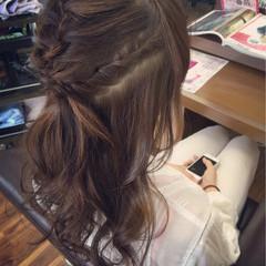 ミディアム アッシュ 大人かわいい 簡単ヘアアレンジ ヘアスタイルや髪型の写真・画像