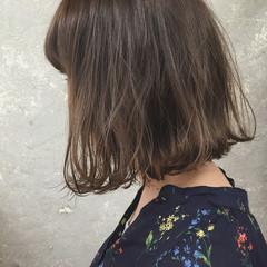 抜け感 グラデーションカラー ナチュラル 切りっぱなし ヘアスタイルや髪型の写真・画像